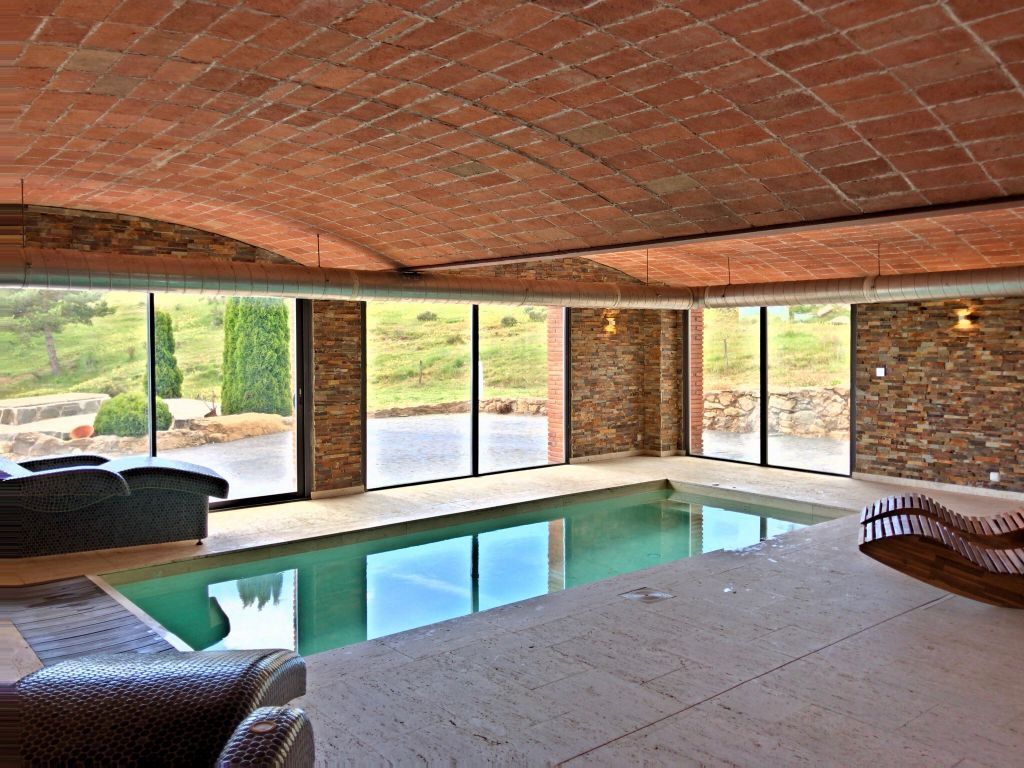 Casa Rural Con Piscina Climatizada La Balconada Rural Santmarcó Berga Barcelona