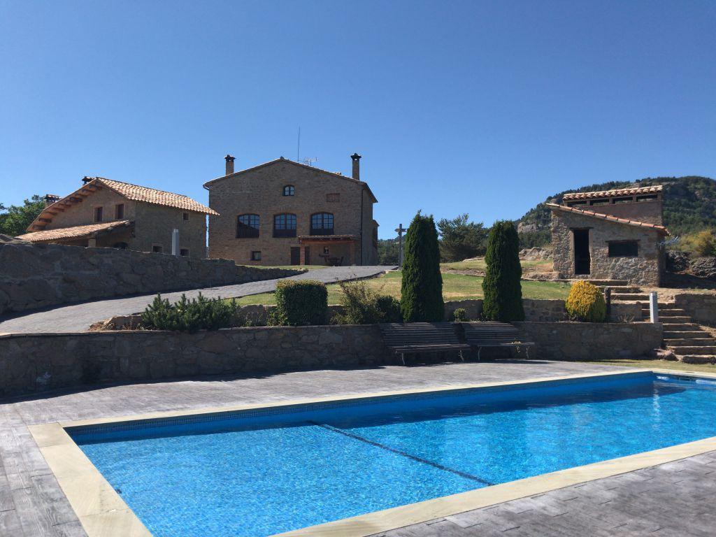 casa rural con piscina climatizada la balconada rural