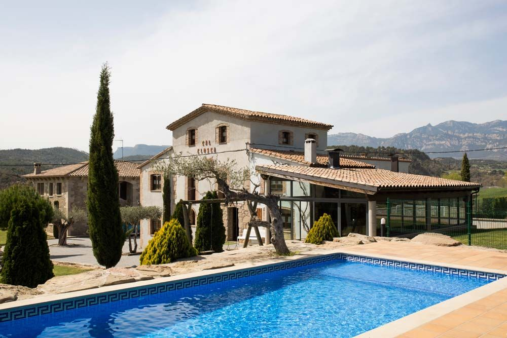 Casa Rural Con Bañera De Hidromasaje Cal Closca Rural Sant Marcó Berga Barcelona