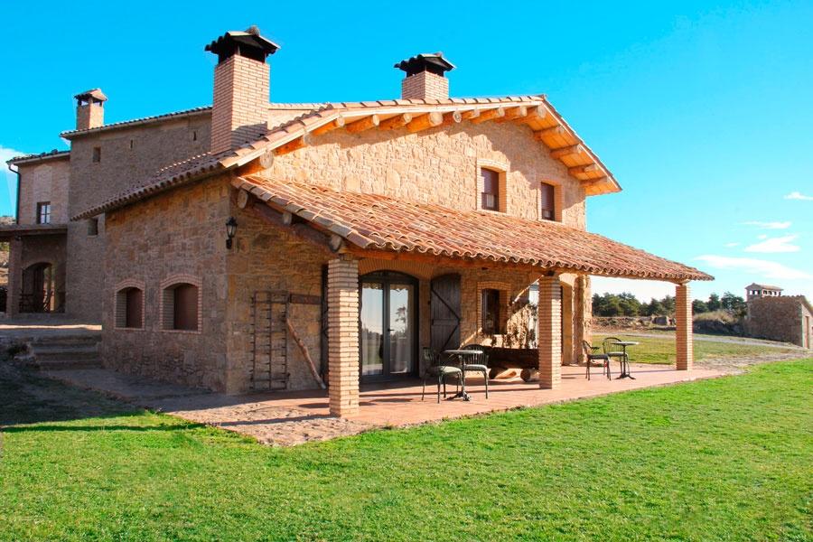 Casa rural en berga rural sant marc barcelona - Casas rurales de madera ...